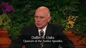 Dallin H Oaks Apostle