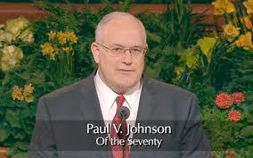 Paul V Johnson Seventy